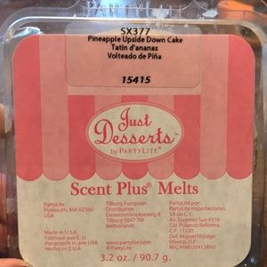 Just desserts by Partylite Scent Plus melts